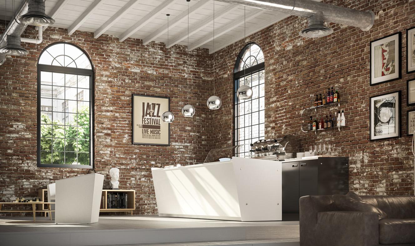 Render Bar Contemporary