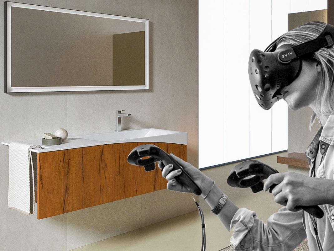 Vr bathroom configurator